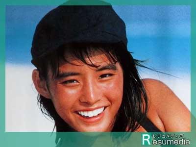 石田ゆり子 高校生時代 1987キャンペーン