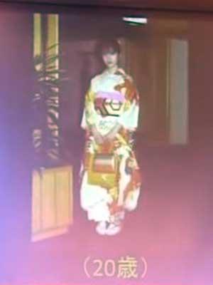 壇蜜 成人式 20歳
