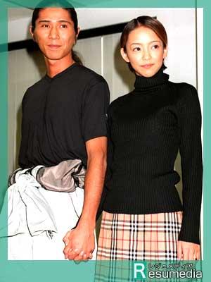 安室奈美恵 SAM 結婚