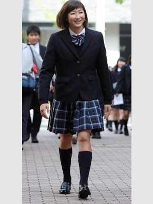池江璃花子 高校時代