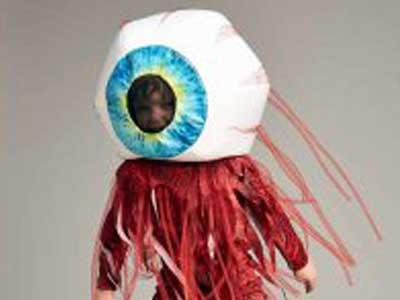 目玉の仮装