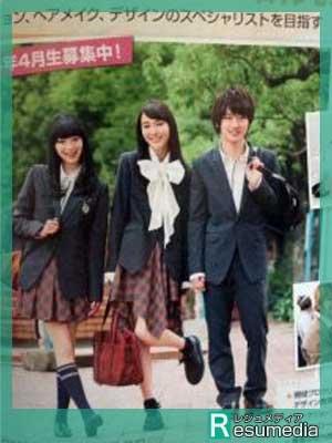 横浜流星 中学時代 雑誌 ニコラ