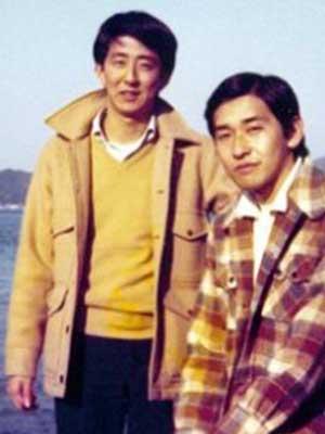 安倍首相 若い頃