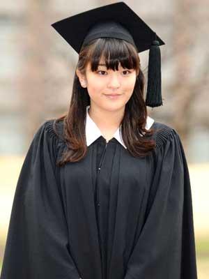 眞子さま 大学卒業