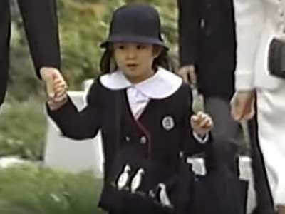 眞子さま 幼稚園入園