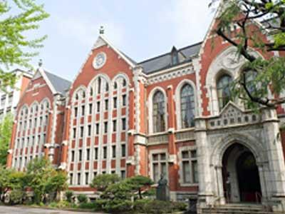 小泉純一郎 慶應義塾大学 三田キャンパス