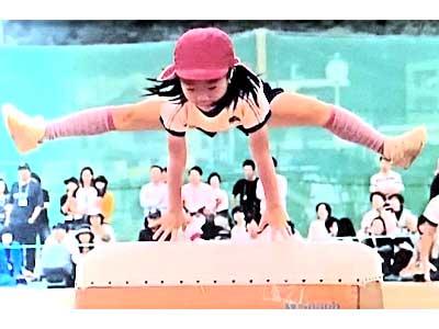 紀平梨花 幼稚園時代 跳び箱 8段
