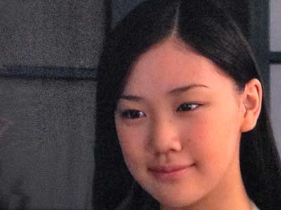 蒼井優 高校時代 17歳