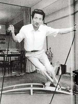 小泉純一郎 若い頃 スキー
