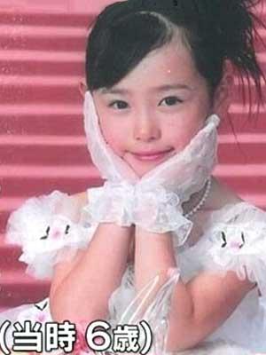 福原遥 小学生時代 6歳