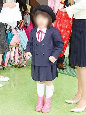 つるまき幼稚園 制服参考画像