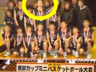 杉野遥亮 小学校 バスケ優勝