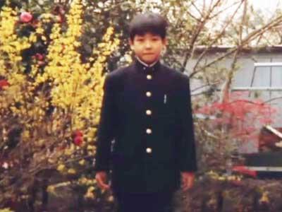西島秀俊 中学生時代