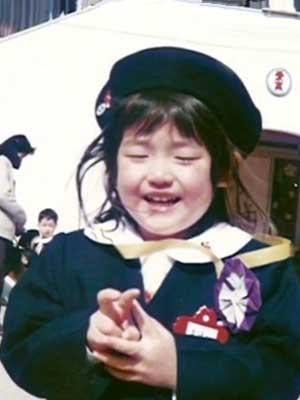 松村沙友理 幼稚園時代