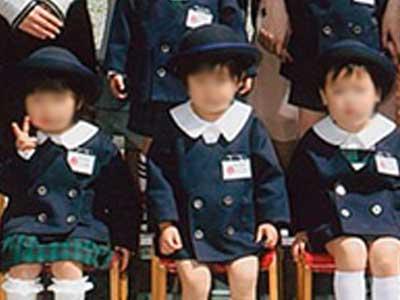 春日幼稚園 制服参考画像