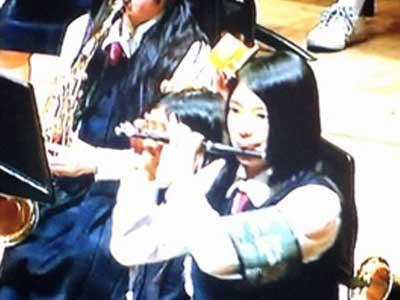 芳根京子 中学時代