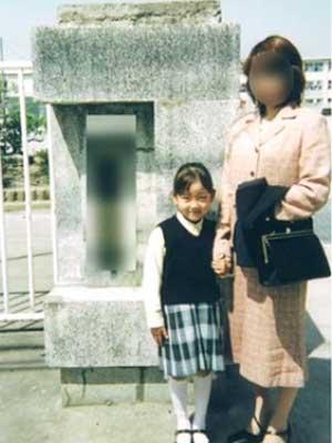 堀未央奈 小学生時代 入学式