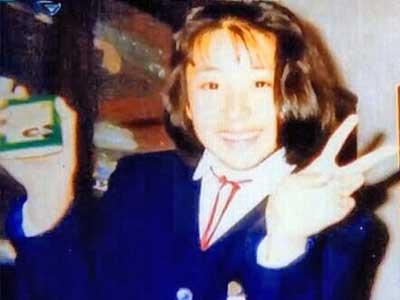 鈴木紗理奈 中学時代 2年生