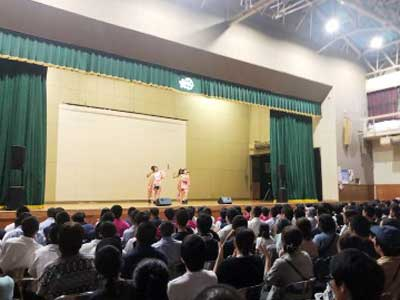 りんご娘 青森山田高校 文化祭