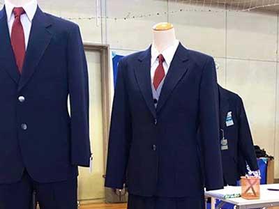 八王子市立陵南中学校制服参考画像