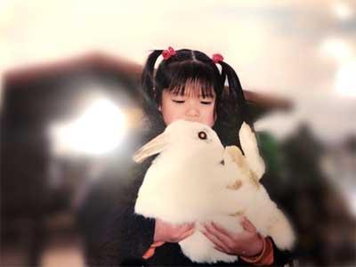 上村莉菜 幼少期