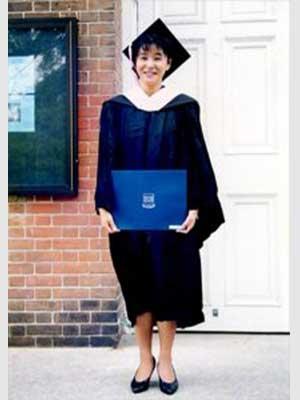 高嶋ちさ子 イェール大学音楽院 卒業式