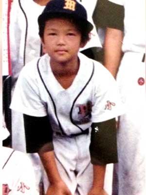 岩倉美里 小学生時代 野球
