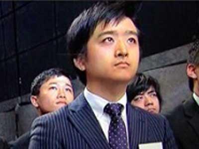 藤井弘輝 入社式
