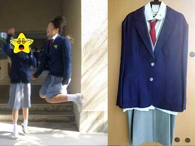 東筑高等学校 制服比較