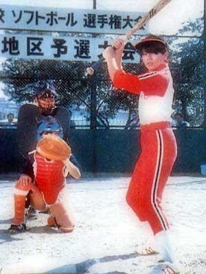小泉今日子 ソフトボール