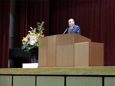 森喜朗 金沢二水高校講演