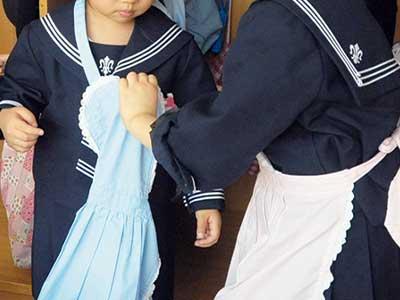 仙台白百合幼稚園制服参考画像