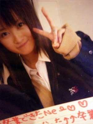 小松彩夏 高校時代 卒業式