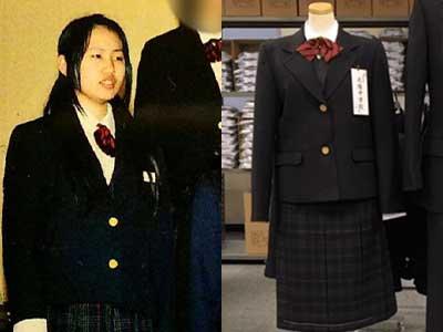 須藤早貴 制服比較画像