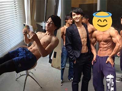 小林廣輝 大学時代 筋肉