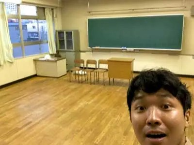 渡辺裕太 高校の教室