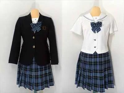 栄徳高等学校制服参考画像
