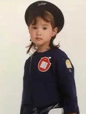 松平璃子 幼稚園時代