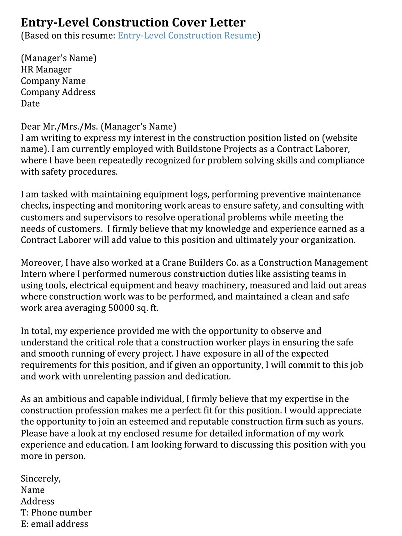 Resume Cover Letter For Fire Chief Best Online Builder