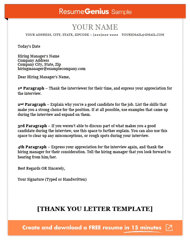 second interview thank you notes
