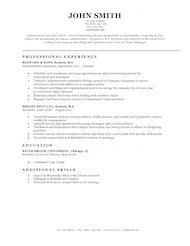 free template resume - April.onthemarch.co