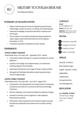 Internship Resume Samples Writing
