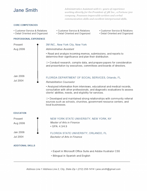Graphic Design Resume Example Graphic Design Resume Sample