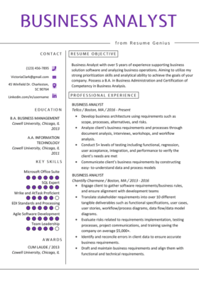 Operations Manager Resume Example  Writing Tips  RG