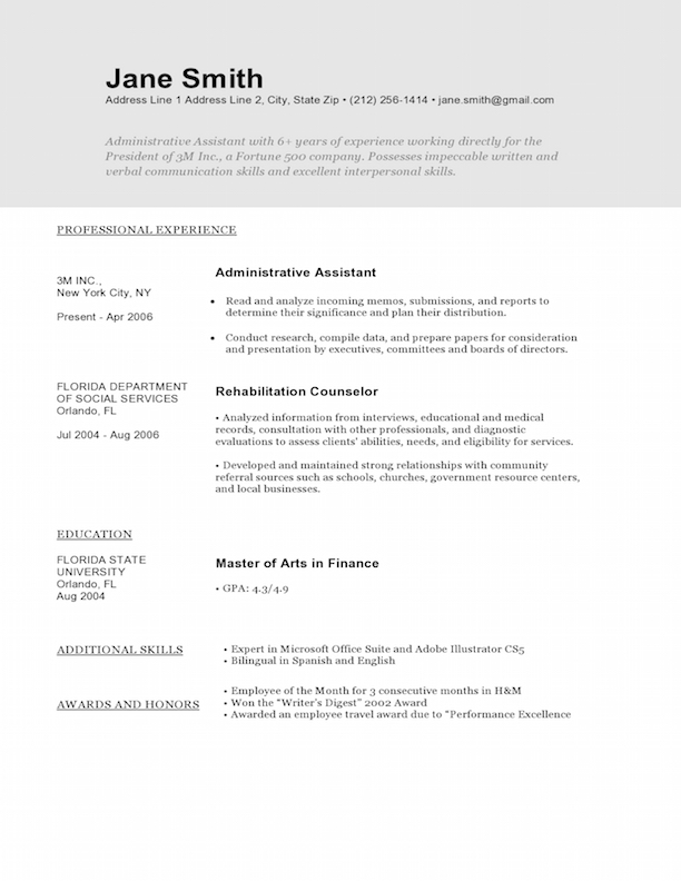 Graphic Artist Resume Examples Graphic Design Resume Sample