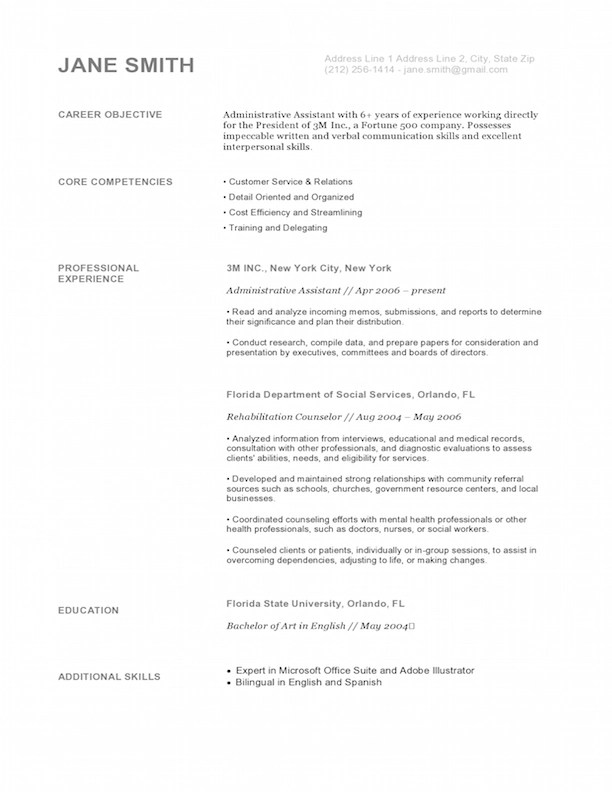 Policy Associate Resume How To Write An Application Letter For A