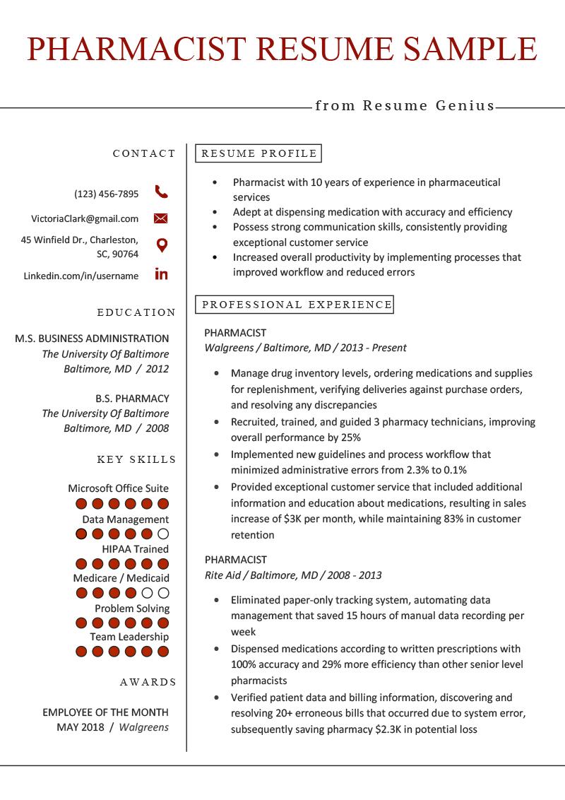sample resume retail skills list