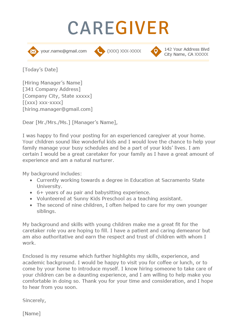 Facility Administrator Cover Letter