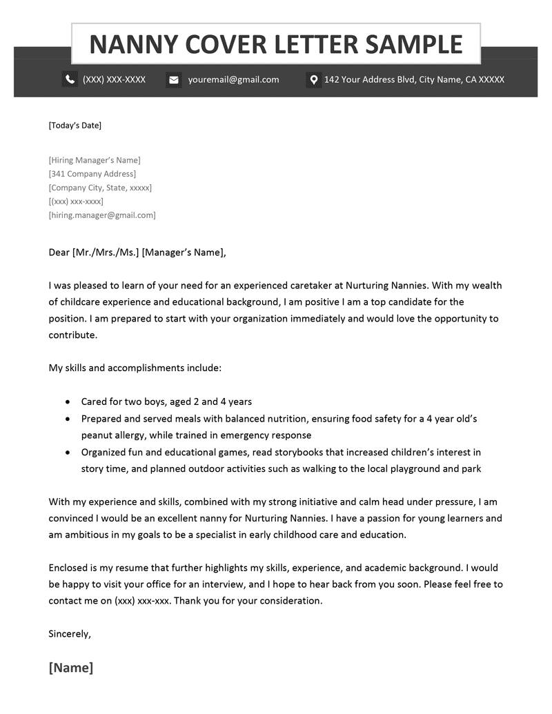 resume cover letter for nursing assistant