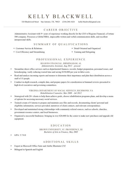 free resume help builder